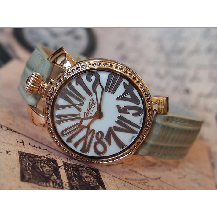 贅沢品 ガガミラノ GAGA MILANO 腕時計 6026.03 レザーベルト, ヤマシナク 21a698d7