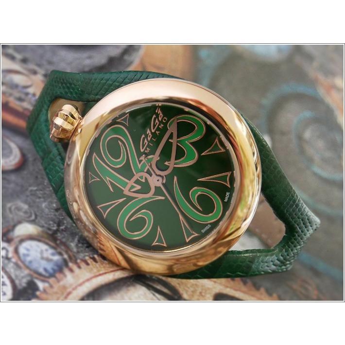 品質満点 ガガミラノ GAGA MILANO 腕時計 6071.04 レザーベルト, ナグリムラ 282827a6