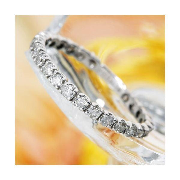 素晴らしい プラチナPt900 0.5ctダイヤリング プラチナPt900 17号 指輪エタニティリング 17号, カワウラマチ:0ba9750e --- chizeng.com