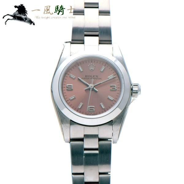 sale retailer 4a3f3 d3039 ROLEX ロレックス オイスターパーペチュアル 76080 F番 新品同様 ...