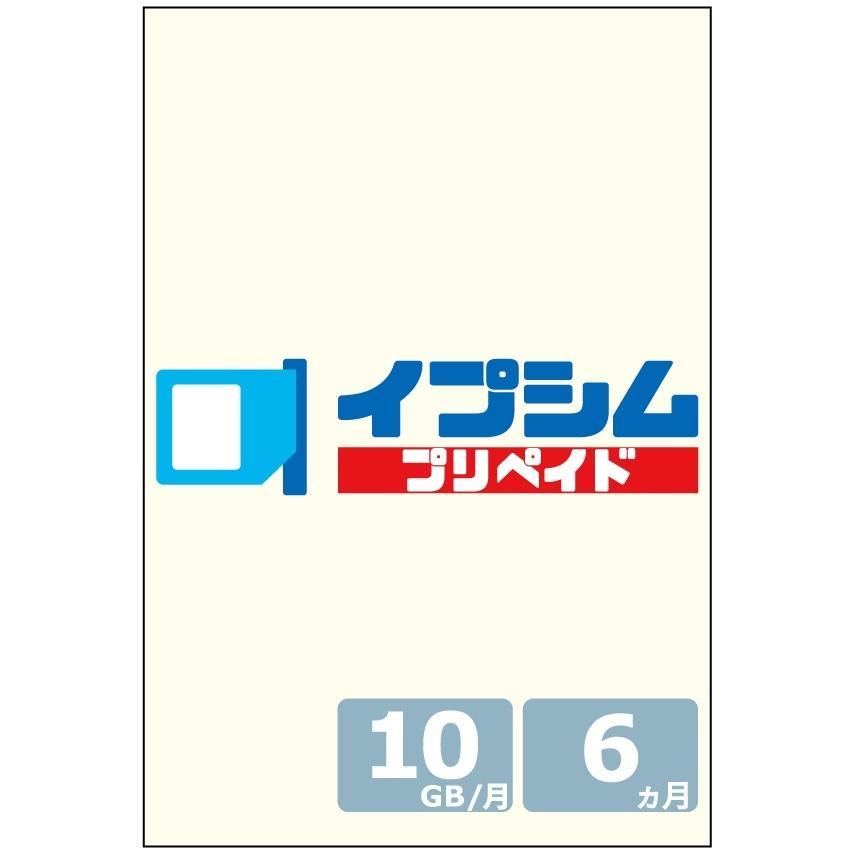 イプシム プリペイド 固定IPアドレスSIM 容量タイプ 10GB × 6ヵ月 (マルチカットSIM)|ipsim