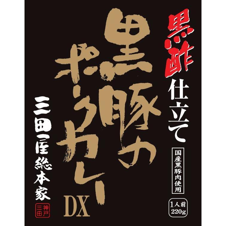 レトルトカレー/三田屋総本家黒酢仕立て黒豚のポークカレーDX 220g|iqfarms