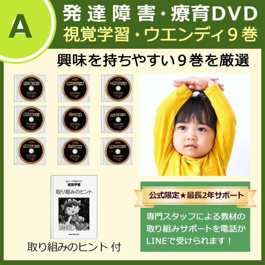 発達障害/絵カード/フラッシュカードDVD教材/言葉が出にくい子が「見て学べる」視覚学習ウェンディー9巻|iqgakuen