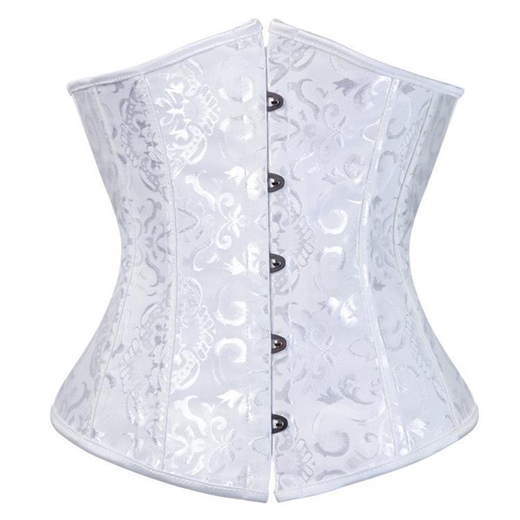 女性用 コルセット くびれ ダイエット 姿勢矯正 アンダーバストタイプ 6カラー|irisblue|05