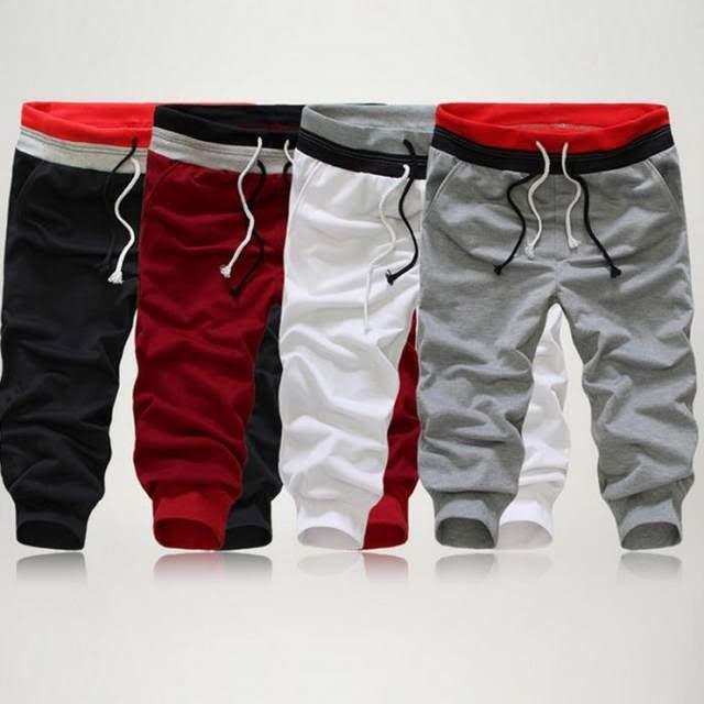 サルエルパンツ スポーツハーフパンツ メンズ スウェット 薄手 7分丈 メンズパンツ スウェットパンツ|irisblue|21