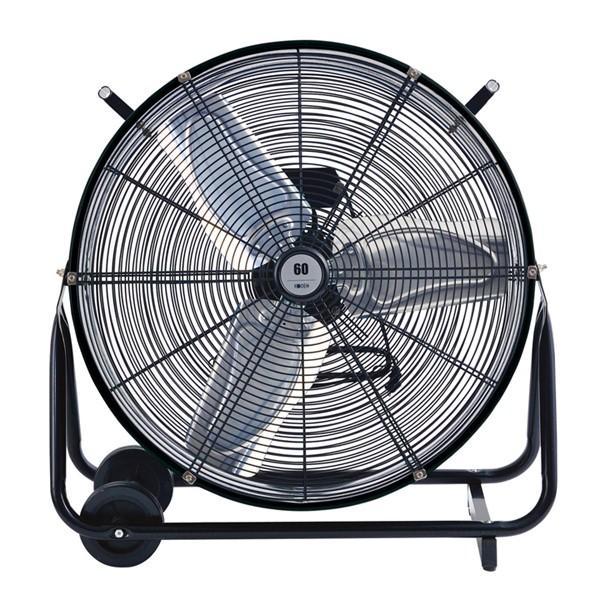 扇風機 おしゃれ リビング 首振り 60cm風洞扇 KSW0601-K-C 広電