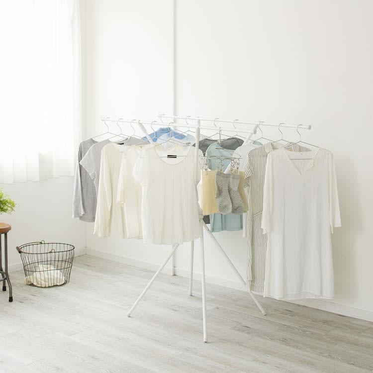 物干し 室内 屋内 アイリスオーヤマ 洗濯物干し コンパクト 部屋干し ...