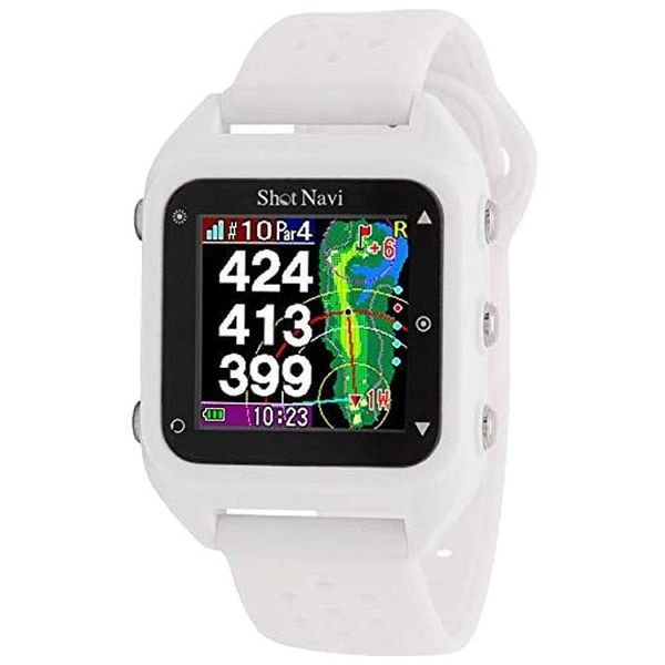 距離計 ゴルフ 腕時計 距離測定器 腕時計型 ゴルフ用 小型 ゴルフ用品 測定器 軽量 Shot Navi HuG Beyond irisvga-y 02