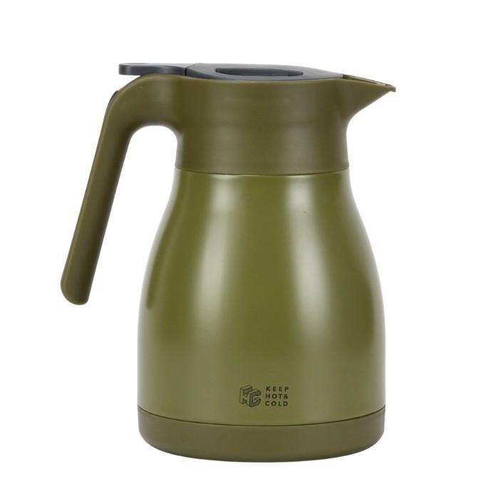 ベストコ サプライ ステンレスジャグ 1L 保温 保冷 ティーポット 魔法瓶 ポット 保温ポット 卓上ポット コーヒー カフェ ポット ステンレス ポット|irodorikukan|04
