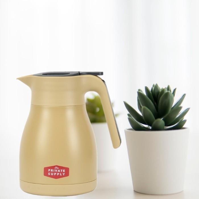 ベストコ サプライ ステンレスジャグ 1L 保温 保冷 ティーポット 魔法瓶 ポット 保温ポット 卓上ポット コーヒー カフェ ポット ステンレス ポット|irodorikukan|05