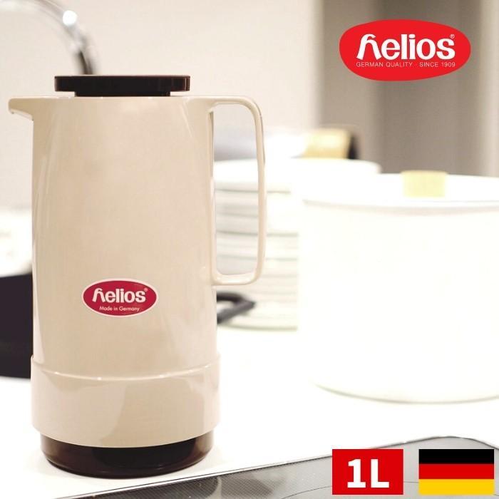 HELIOS STANDARD スタンダード ドイツ製 卓上 ガラス製魔法瓶 1L 1リットル 水筒 保温 ポット キッチン用品 北欧 シンプル かわいい おしゃれ ヘリオス 368544|irodorikukan
