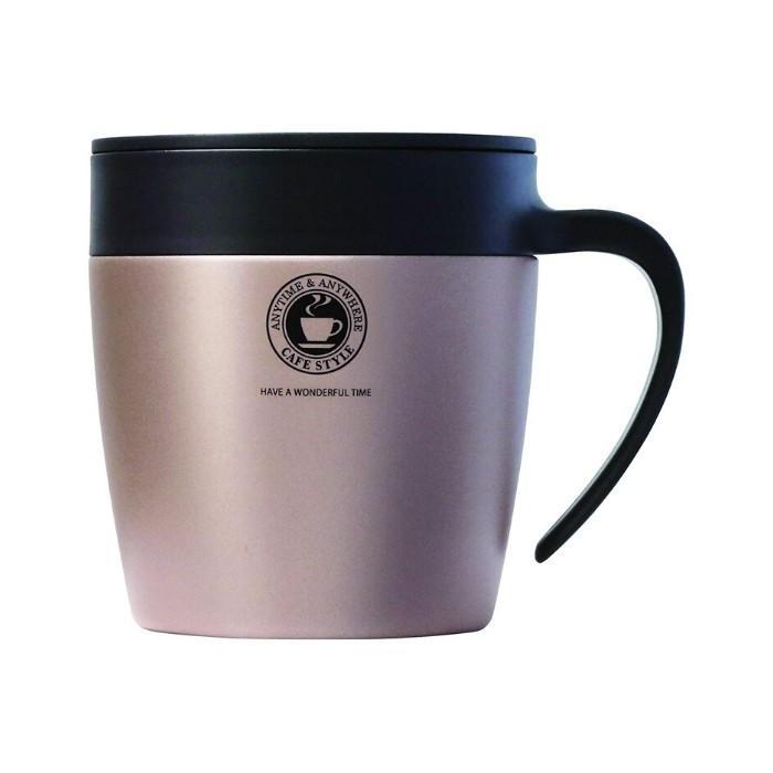 アスベル おしゃれ マグカップ ステンレス 蓋付き フタ付 330ML MG-S330N 保冷 保温 コーヒー タンブラー 水筒|irodorikukan|09