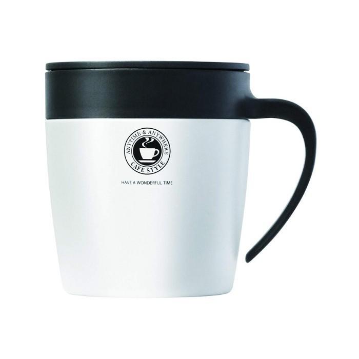 アスベル おしゃれ マグカップ ステンレス 蓋付き フタ付 330ML MG-S330N 保冷 保温 コーヒー タンブラー 水筒|irodorikukan|10