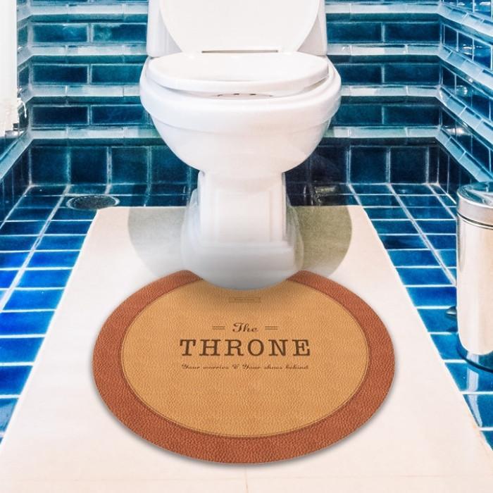 トイレマット 拭ける 60×60cm 60×55cm 60×80cm おしゃれ 北欧 PVC 撥水 ベストコ|irodorikukan|02