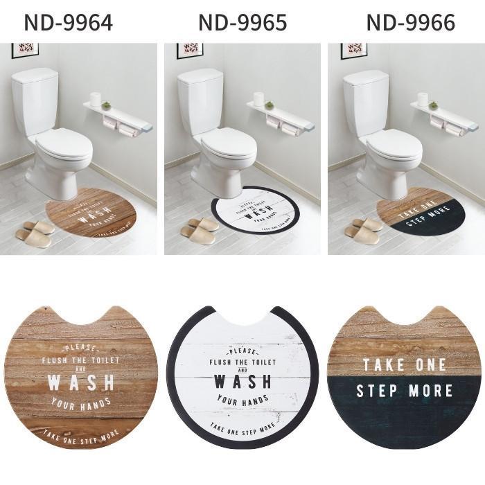 トイレマット 拭ける 60×60cm 60×55cm 60×80cm おしゃれ 北欧 PVC 撥水 ベストコ|irodorikukan|11