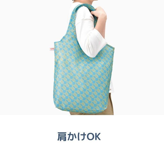 エコバッグ 折りたたみ おしゃれ ブランド 約18L REX-018 トートバッグ サーモス THERMOS ポケットバッグ メンズ レディース コンパクト 軽量 メール便[TOKU]|irodorikukan|03