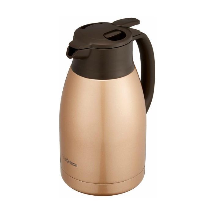 象印 ステンレス ポット 水筒 おしゃれ 保温 保冷 1.5リットル SH‐HB15-NZ カッパー コーヒー|irodorikukan|06