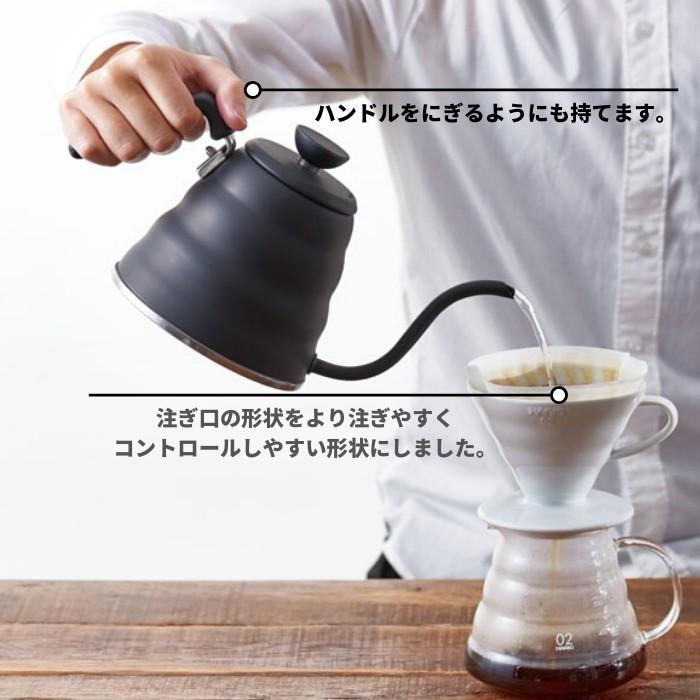 ハリオ V60ドリップケトル ヴォーノ 日本製 800ml VKB-120 コーヒー 珈琲 ドリップ HARIO やかん おしゃれ|irodorikukan|02