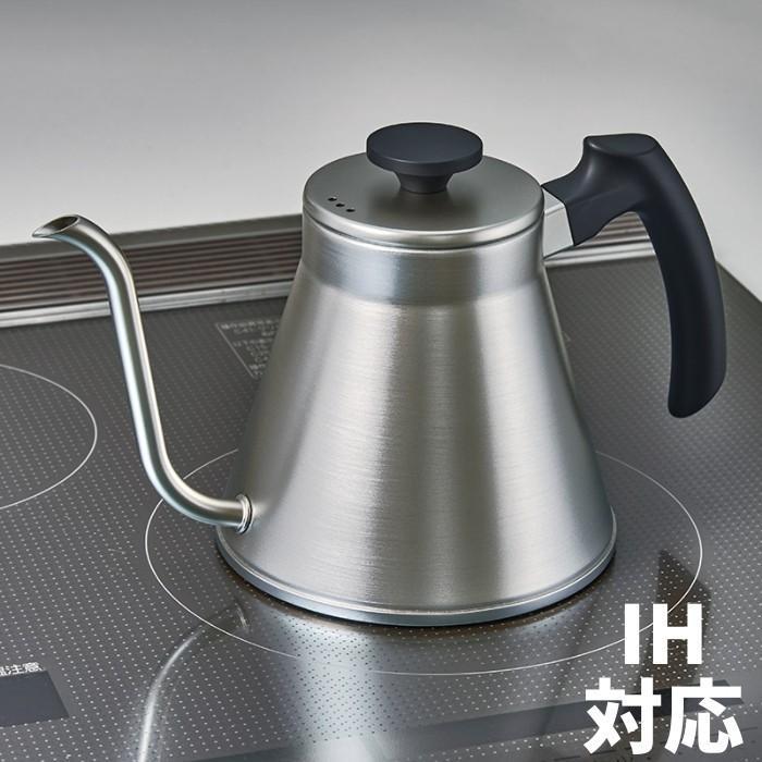 ハリオ V60 ドリップ ケトル フィット 日本製 800ml VKF-120 コーヒー 珈琲 ドリップ HARIO やかん おしゃれ|irodorikukan|06