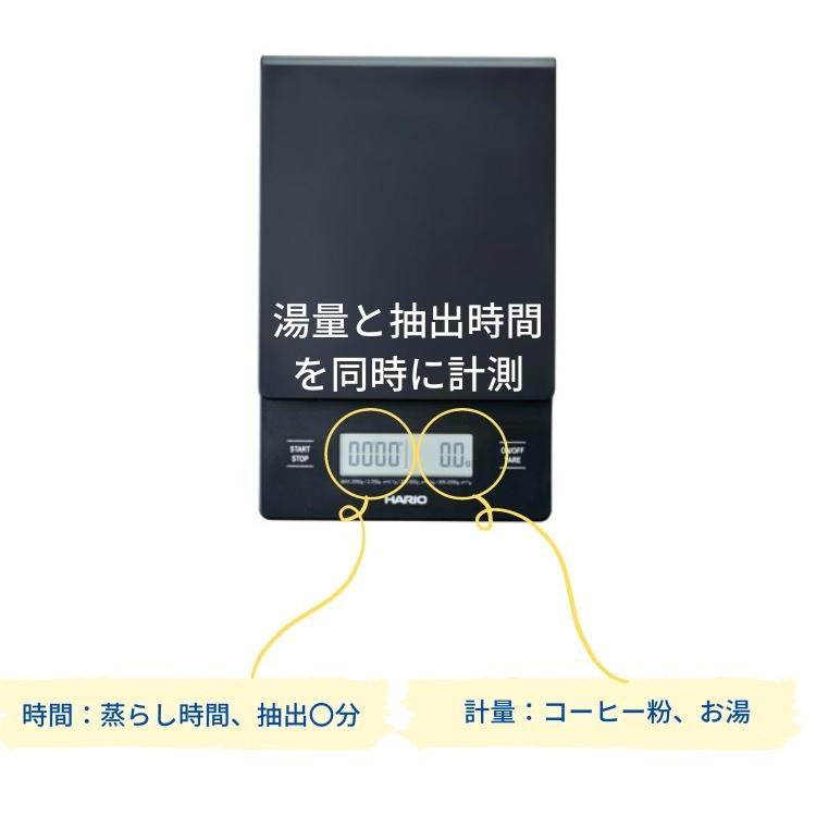 ハリオ V60 ドリップスケール VSTN-2000B コーヒー 珈琲 HARIO 4977642021907 irodorikukan 03
