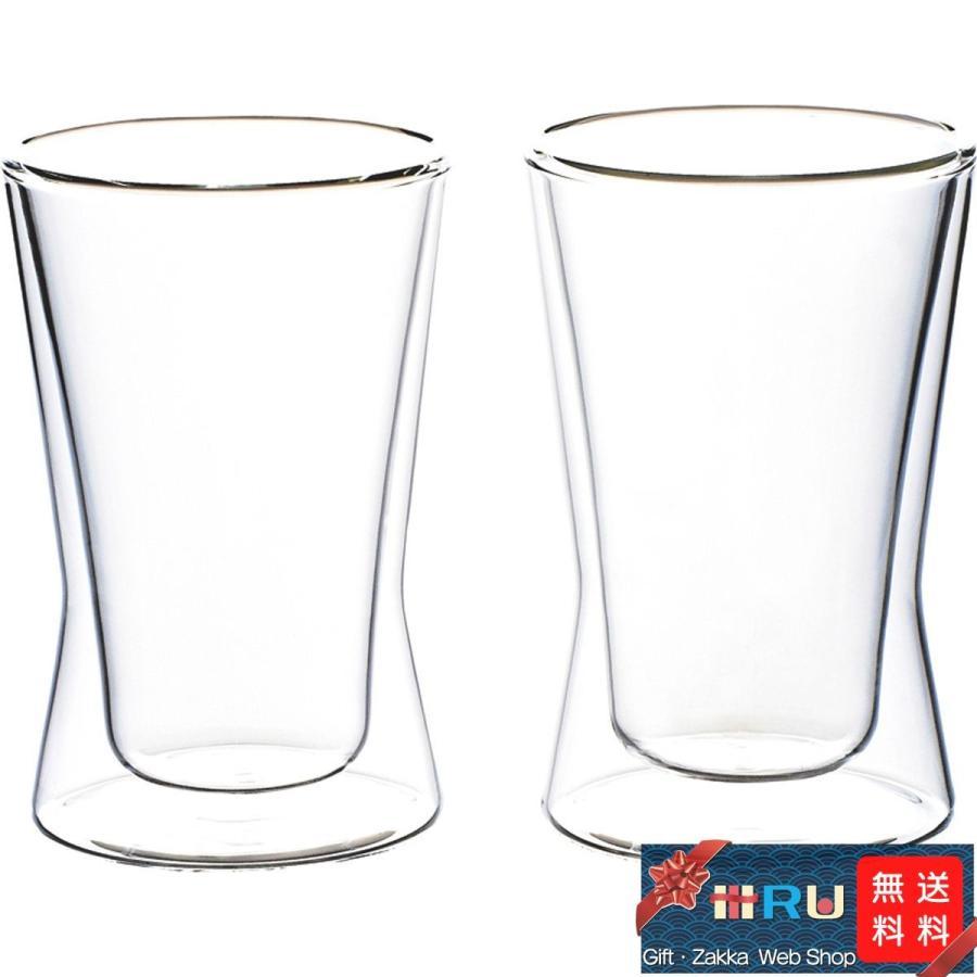 ギフト 出産祝い 内祝い 誕生日プレゼント 出産内祝い 食器 食器 グラス タンブラー ウェルナーマイスター  耐熱二重ガラス・タンブラーペアセット|iru