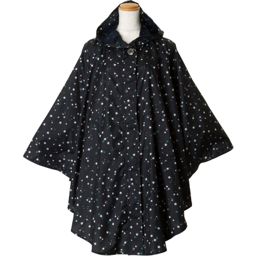 レインコート ビコーズ ポンチョ レディース おしゃれ かわいい コート iru 02
