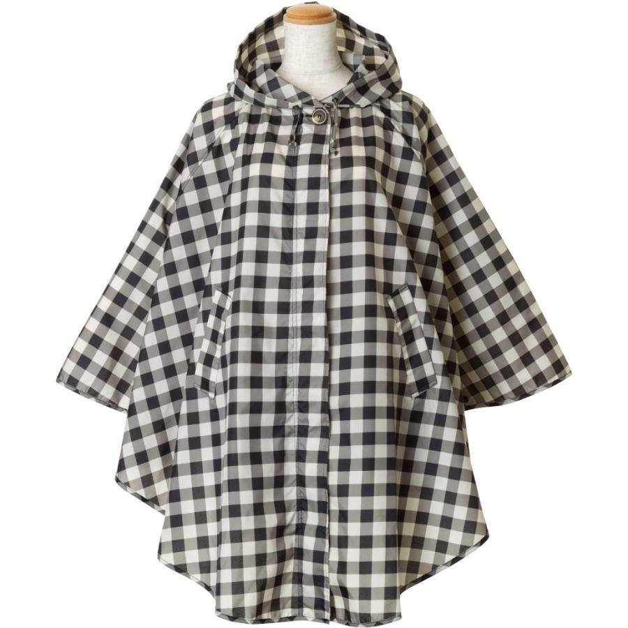 レインコート ビコーズ ポンチョ レディース おしゃれ かわいい コート iru 03