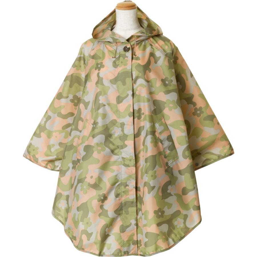 レインコート ビコーズ ポンチョ レディース おしゃれ かわいい コート iru 04
