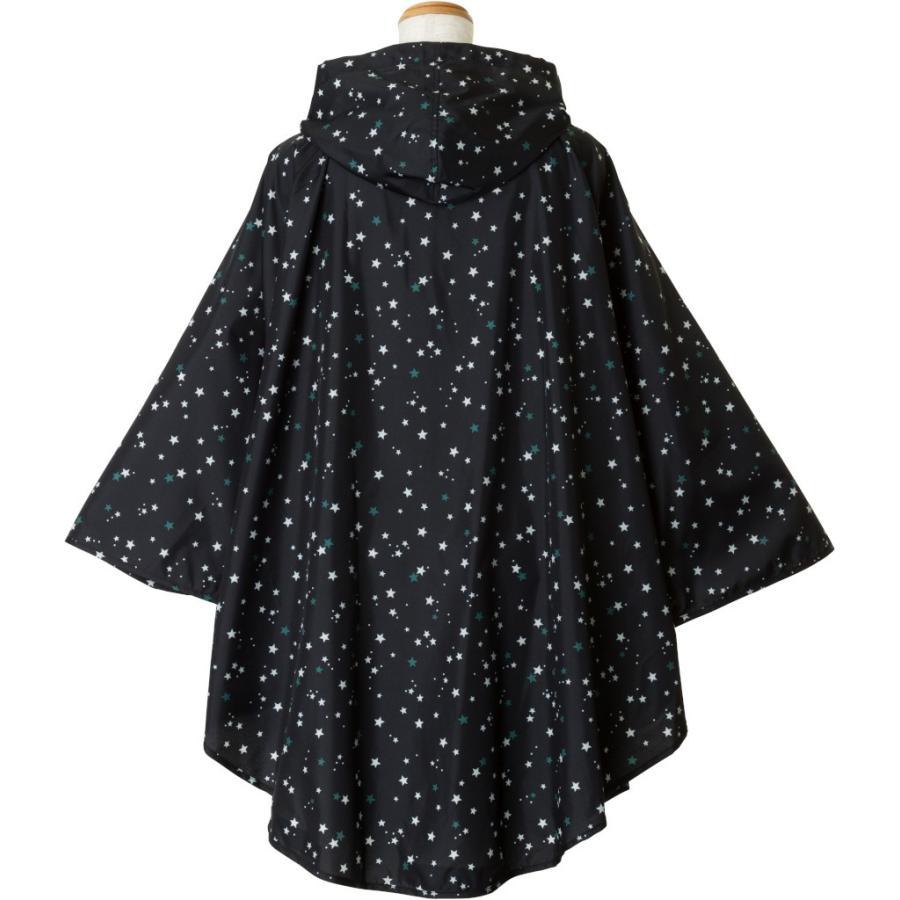 レインコート ビコーズ ポンチョ レディース おしゃれ かわいい コート iru 05