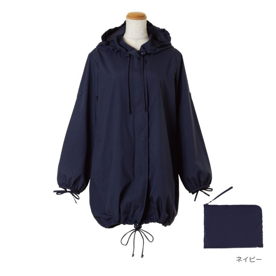 レインコート ビコーズ  モッズコート 全2色 レインコート フリーサイズ DD-01858 レディース おしゃれ かわいい コート|iru|03