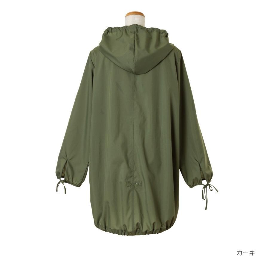 レインコート ビコーズ  モッズコート 全2色 レインコート フリーサイズ DD-01858 レディース おしゃれ かわいい コート|iru|04