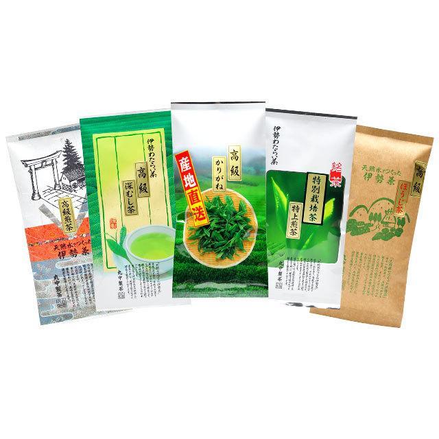 伊勢茶福茶セット(ギフト箱入り)送料無料 isecha 02