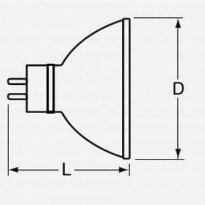 ウシオ JR12V50WLM/K-H スーパーライン 12V用 GU5.3 口金 Φ50 スポットライト ダウンライト|isekilampshop|02