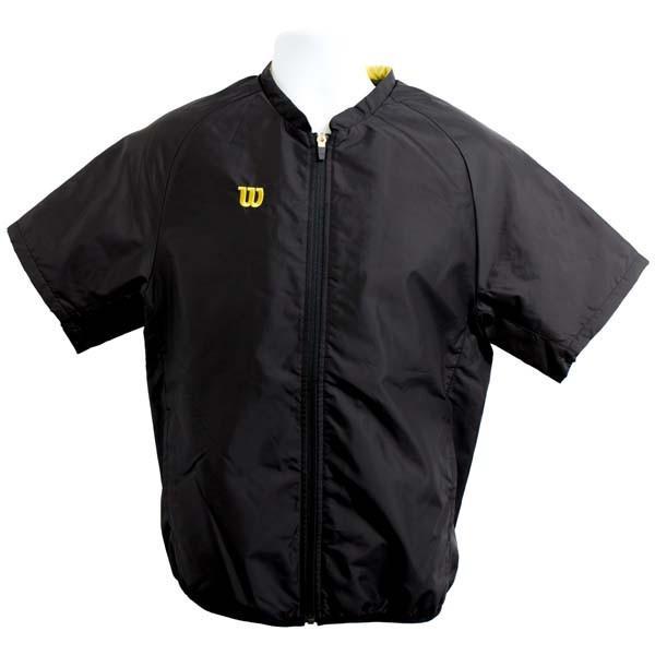ウィルソン製 【伊勢審判本舗オリジナル】 アンパイア綿入り半袖ジャケット