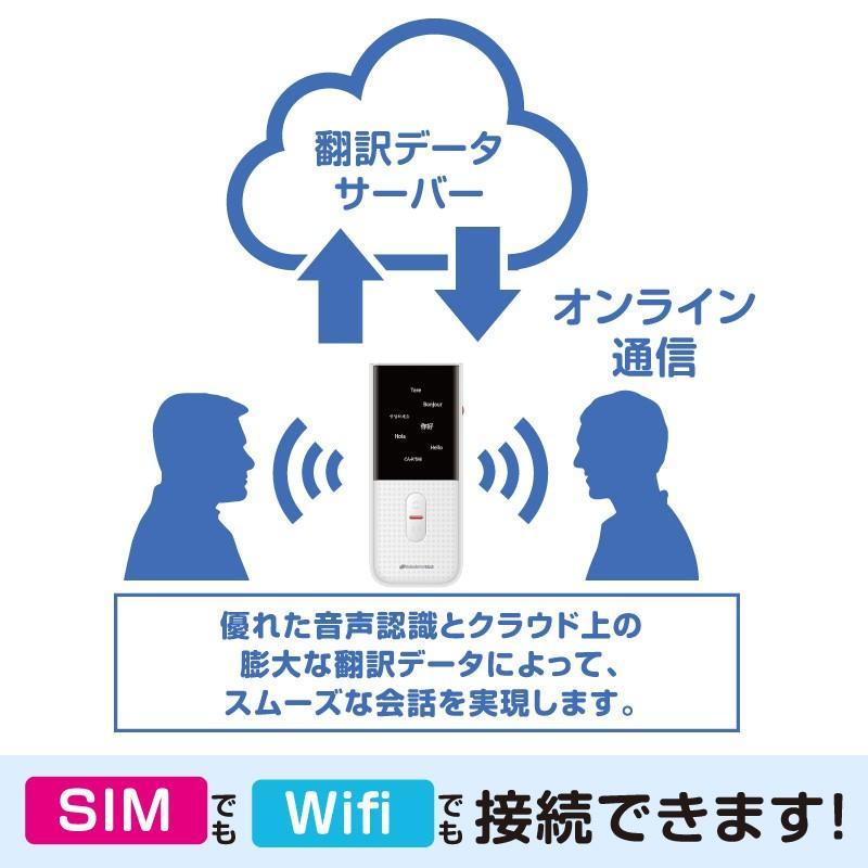 携帯 翻訳機 ウイルコム どこでもトーク SIMフリー対応 ウィルコム isfactory 04