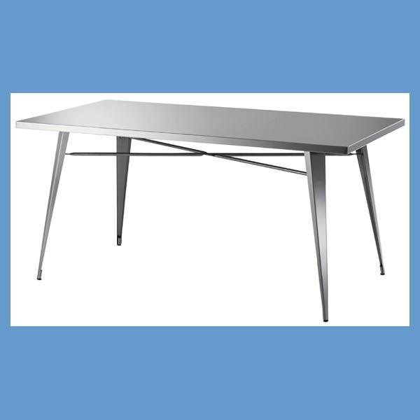 『中型』ステンレスダイニングテーブル(STN-334)
