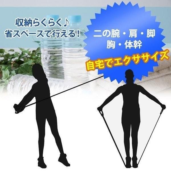 トレーニングチューブ 5本セット  トレーニング 筋トレ ダイエット 健康器具 送料無料 ishi0424 02