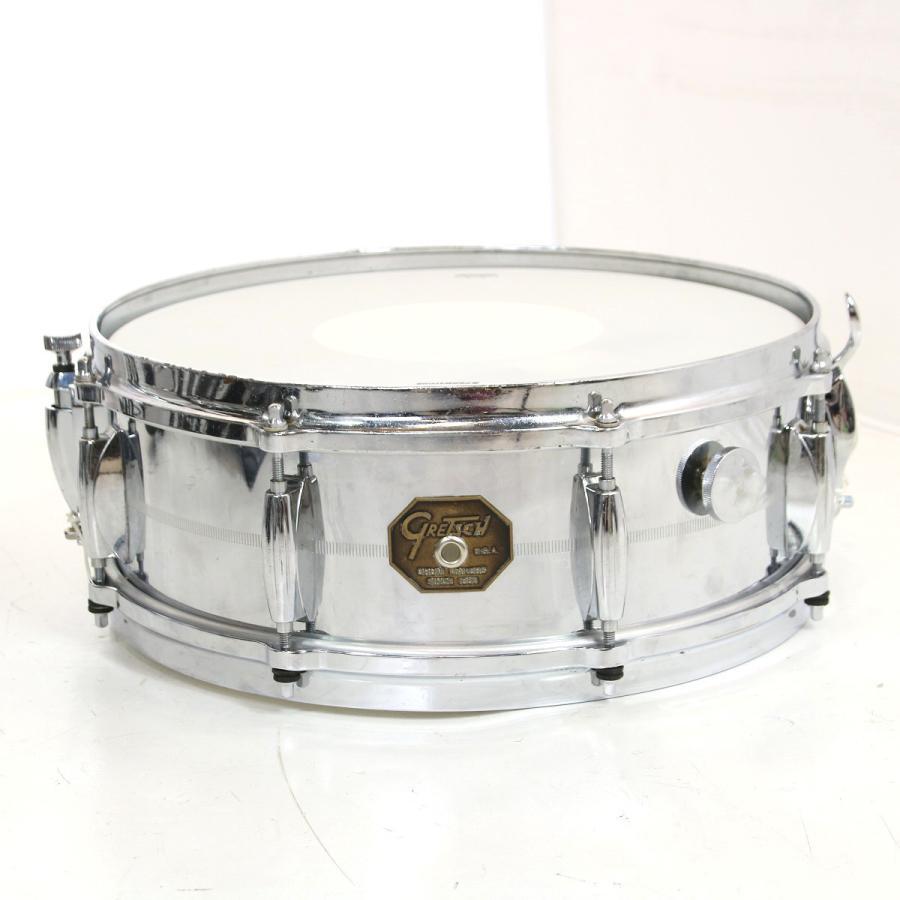 (中古)GRETSCH グレッチ / 1981 G-4160 C.O.B Snare Drum 14x5 ブラス スネアドラム(御茶ノ水ドラム館)