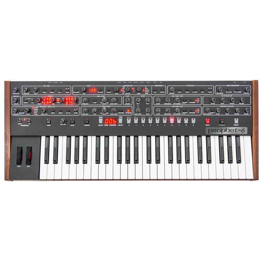 Dave Smith Instruments デイブスミス / Sequential Prophet-6 シーケンシャル プロフェット(お取り寄せ商品)
