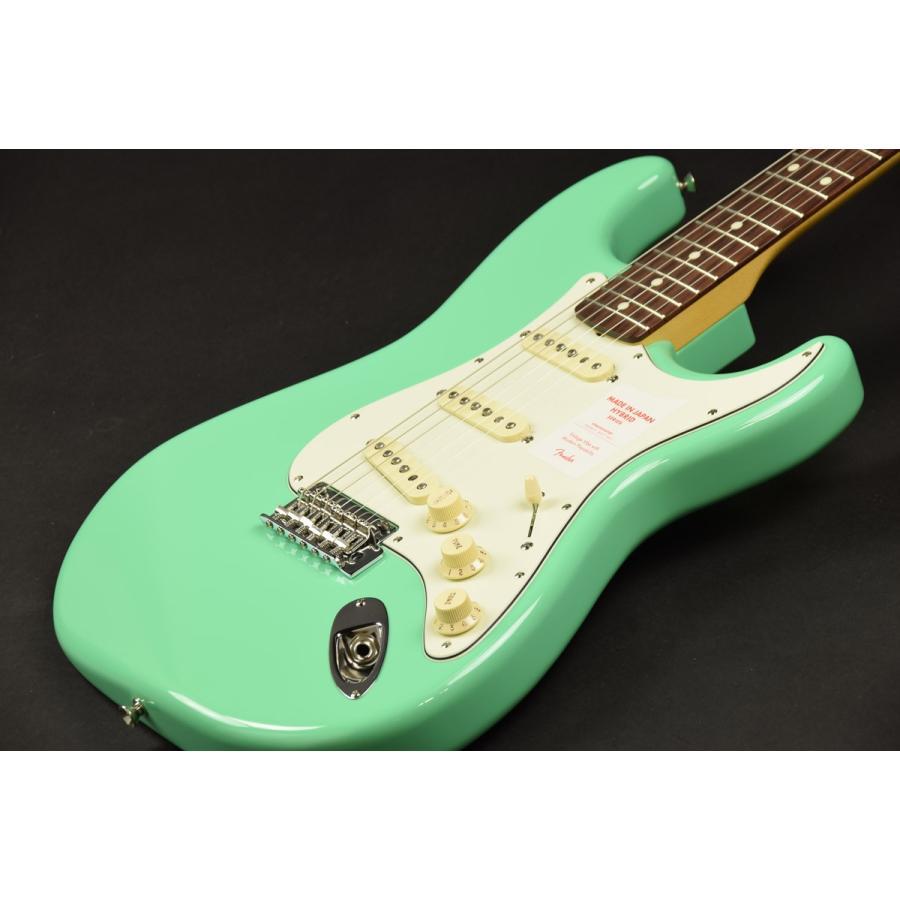 Fender Green/ Made in Made Japan Hybrid 60s Stratocaster