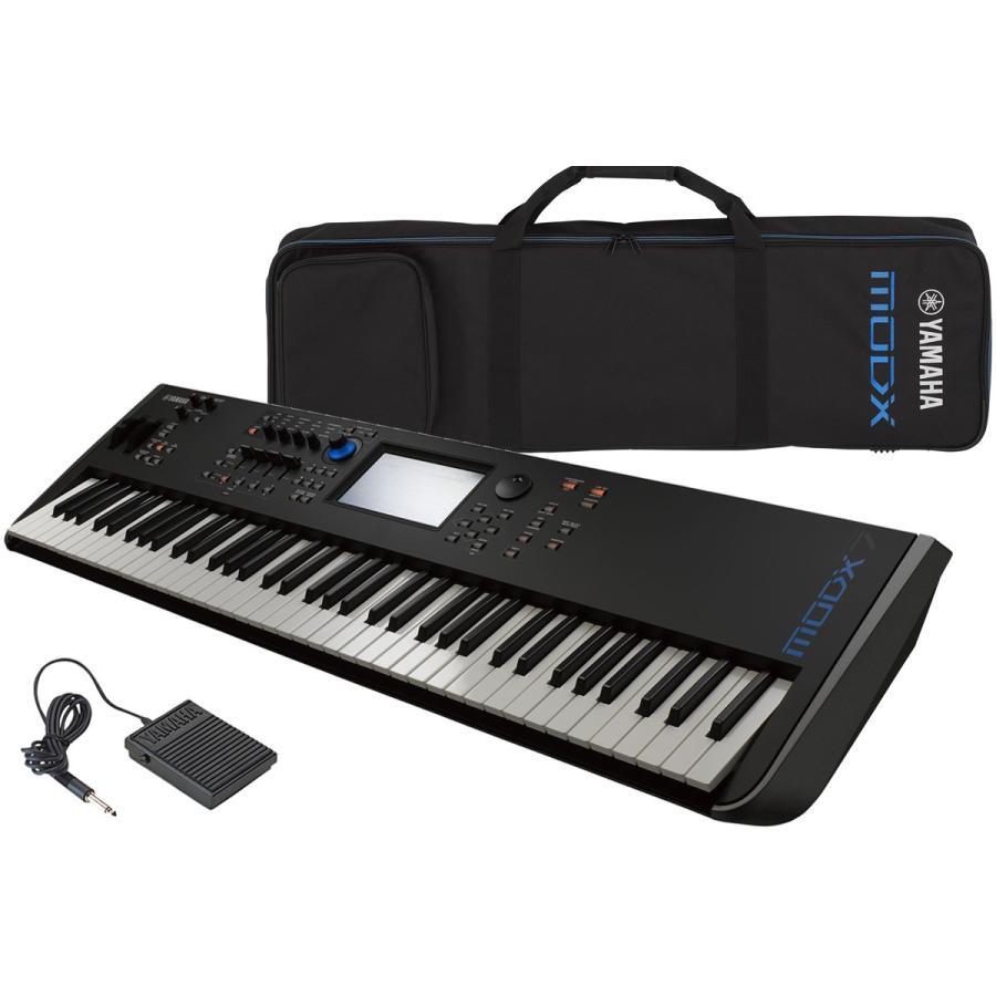 YAMAHA ヤマハ / MODX7(純正ケースセット)76鍵盤シンセサイザー(YRK)
