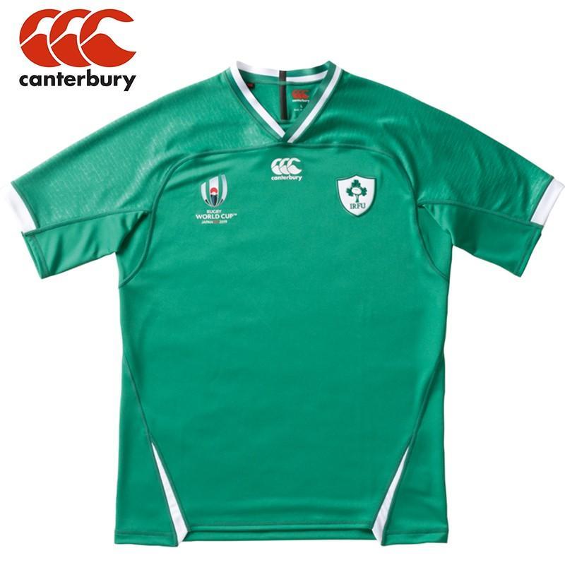 【即日発送】CANTERBURY カンタベリー ラグビー アイルランド代表 レプリカユニフォーム ホーム ジャージ ユニセックス RWC2019 ワールドカップ (VWR39004)