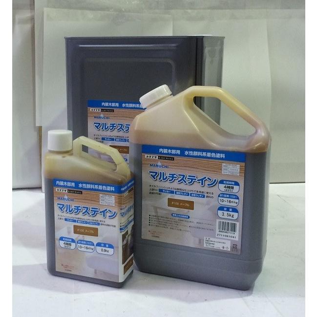 大阪塗料 水性着色剤マルチステイン#103チーク 14kg DIY 屋内 内装 マルチ性 オイルフィニッシュ風 作業性 安全性 低臭 速乾