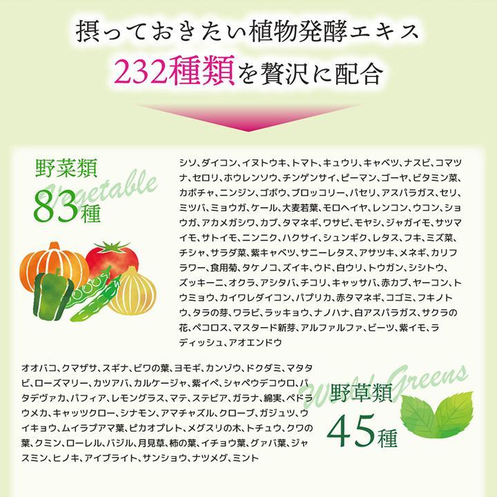 【232酵素シリーズ】 酵素 サプリ サプリメント ダイエット酵素 120粒 30日分 2袋 ダイエット|ishokudogen-store|05