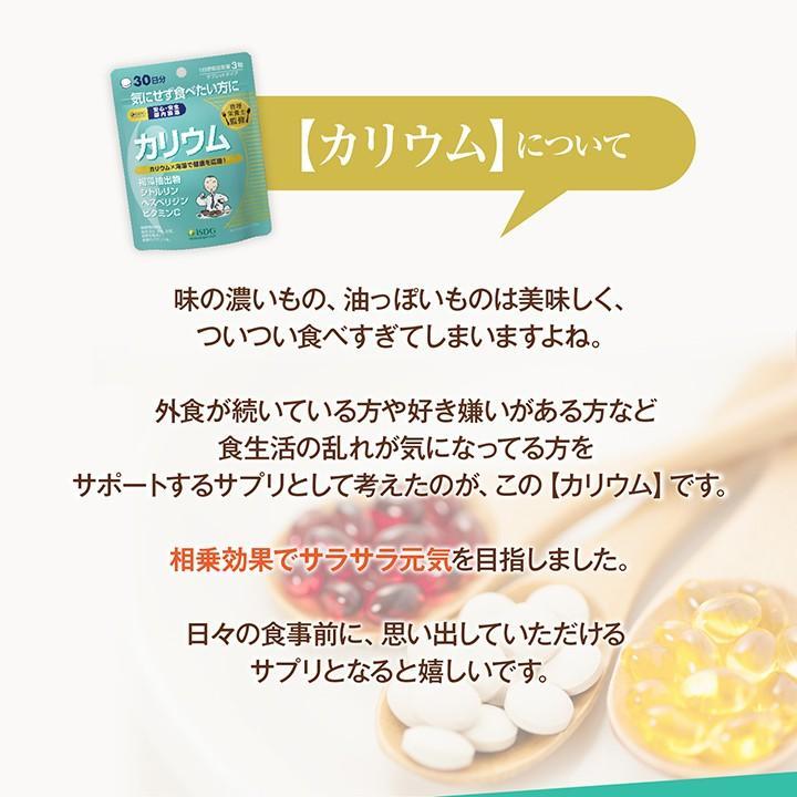 《管理栄養士監修》 ミネラルサポート サプリ カリウム 90粒 30日分|ishokudogen-store|11