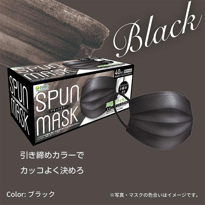 【40枚】スパンレース不織布マスク 大容量 スパンレース スパンマスク 不織布 艶マスク 使い捨て カラーマスク オシャレ マスク 三層 個包装 99% 大人用|ishokudogen-store|13