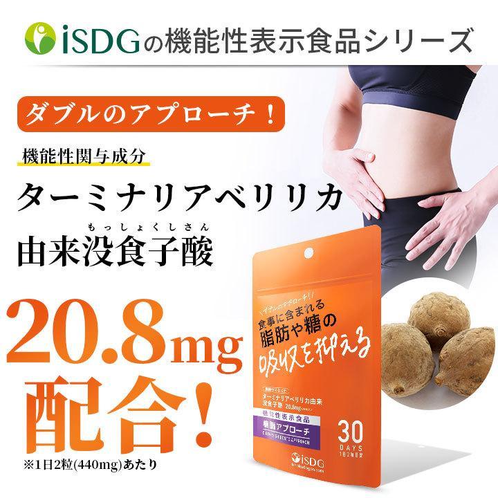 機能性表示食品 糖脂アプローチ ターミナリアベリリカ抽出物 サプリ 食事に含まれる脂肪や糖の吸収を抑える サプリ サプリメント|ishokudogen-store|03