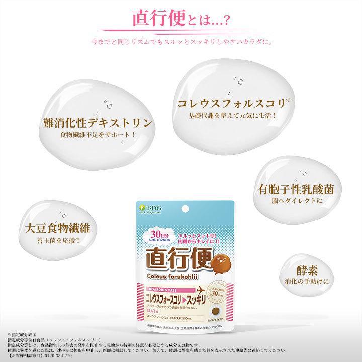 ダイエット サプリ サプリメント 直行便 60粒 30日分 コレウスフォルスコリ 植物酵素|ishokudogen-store|03
