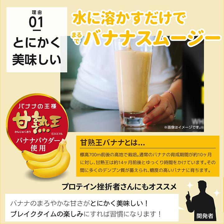 ホエイ プロテイン バナナ BMS WHEY PROTEIN 100 バナナスムージー風味 900g 30日分 甘熟王 タンパク質 女性 ISDG 医食同源ドットコム ishokudogen-store 10