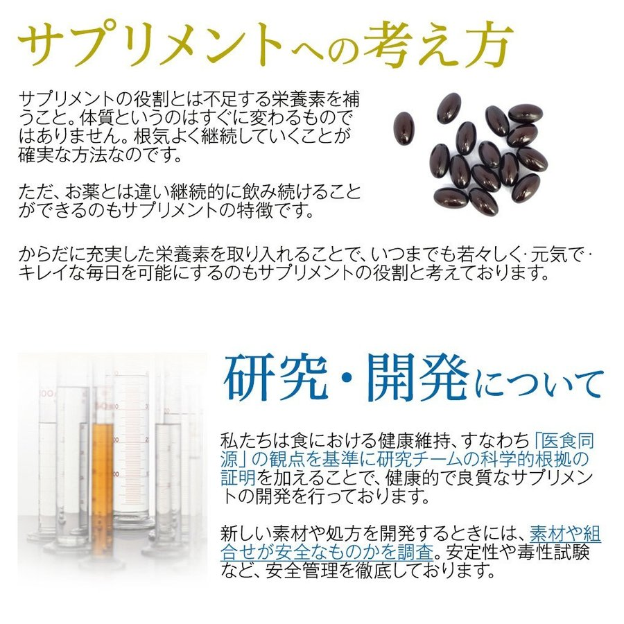 美白 サプリ 雪白粒 60粒 30日分 サプリメント 美肌 コラーゲン ペプチド ハトムギ メロン抽出末|ishokudogen-store|05